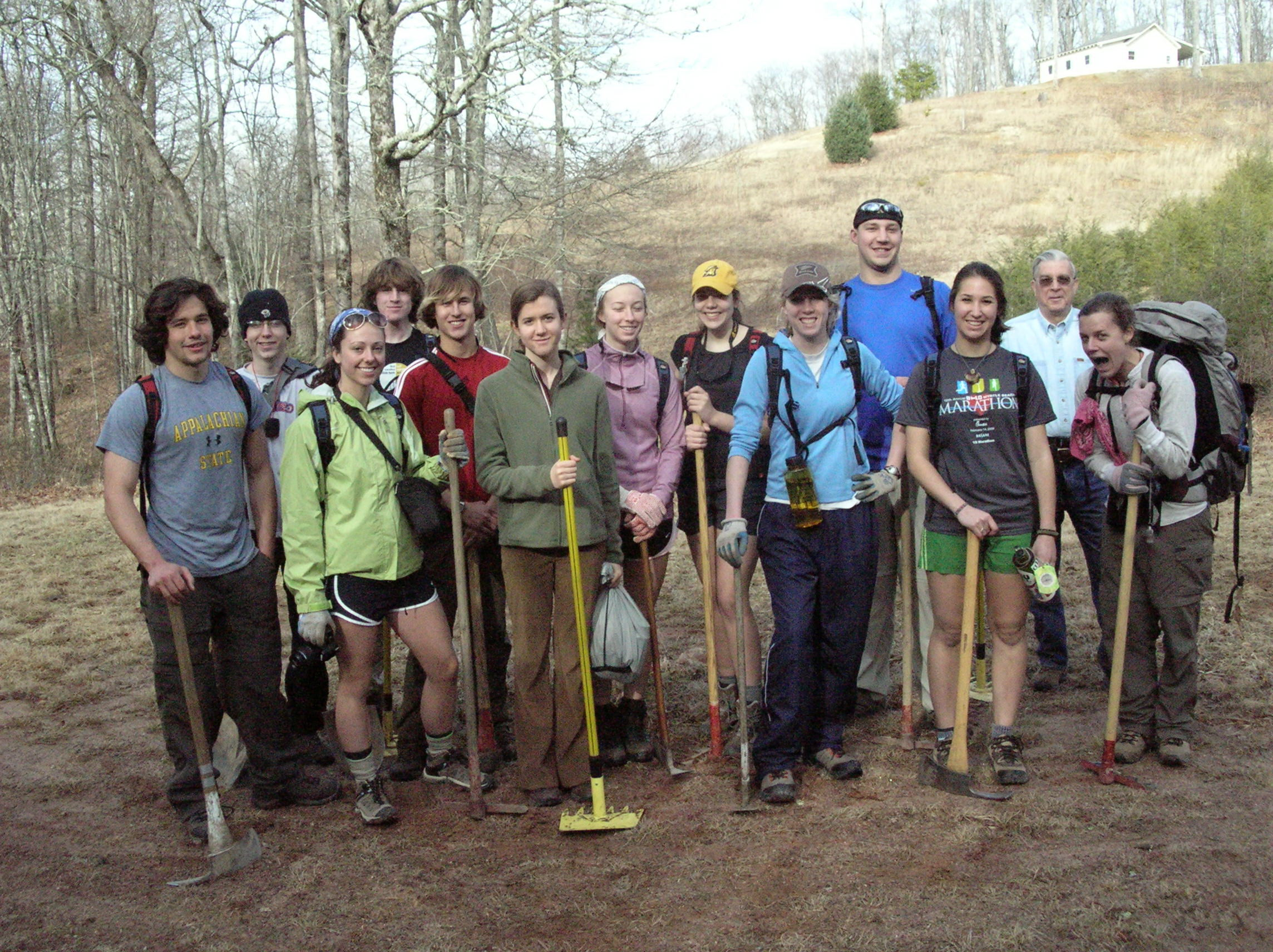 Friends of Panthertown Trail Work Day