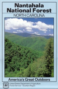 Map of Nantahala National Forest