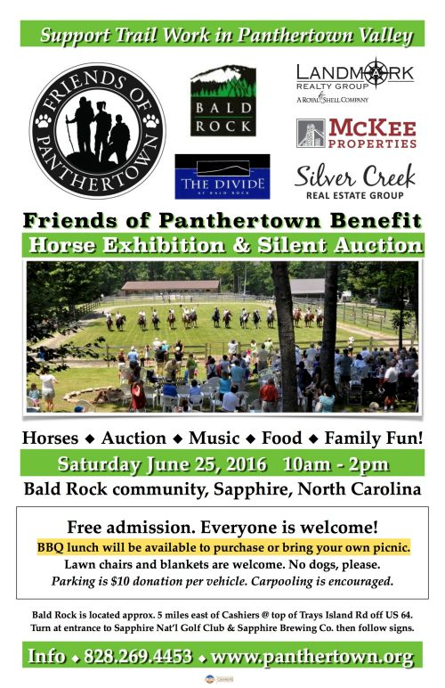 Benefit Horse Exhibition Saturday June 25 at Bald Rock
