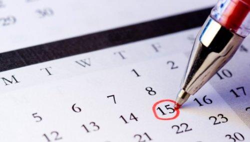 Calendar of Events