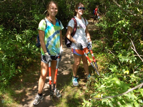 Friends of Panthertown volunteers maintain 30 miles of public trails in Panthertown