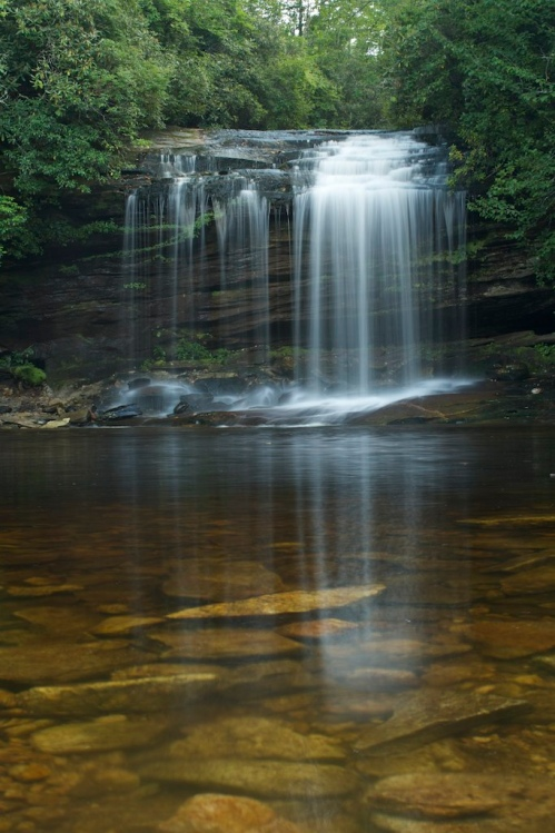 School House Falls, Panthertown Valley