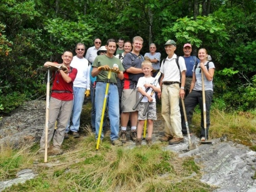Photo of Friends of Panthertown Volunteers