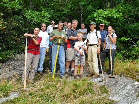 Friends of Panthertown Volunteers