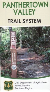 Panthertown Valley Trail System Map