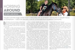 The Laurel Magazine - June 2016 Article