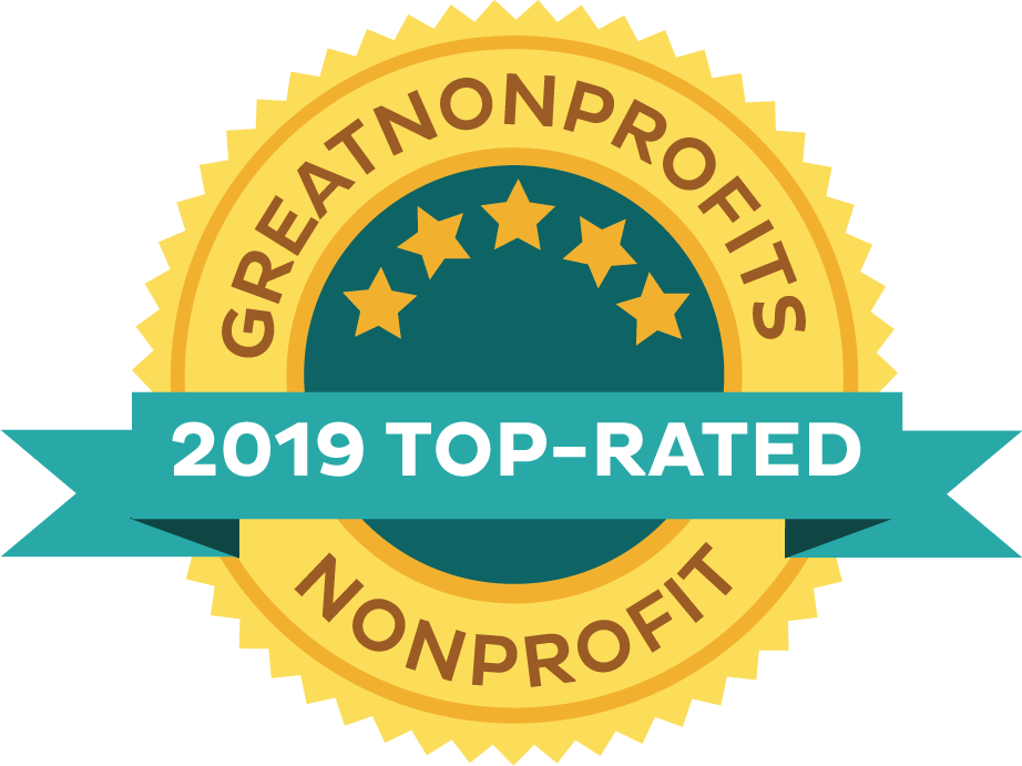 2019 Top-Rated Nonprofit at Greatnonprofits!