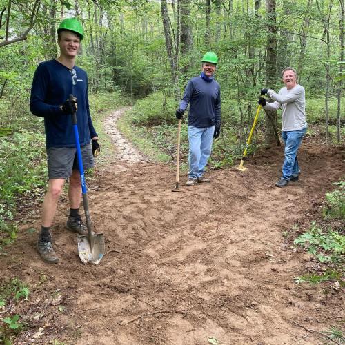 Panthertown Volunteers (September 2020)